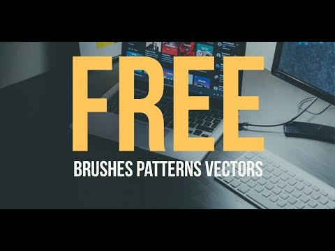 How To Get FREE Patterns, Icons, and Brushes in Photoshop! - Creative Cloud Market