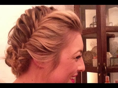 How To: French Fishtail Updo For Prom