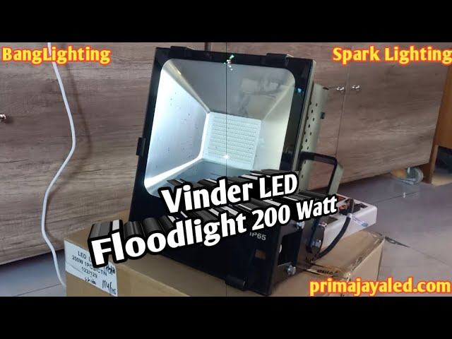 Vinder LED Floodlight 200 Watt