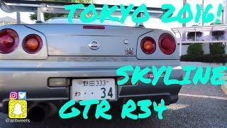 SKYLINE GTR R34 | DRIVING IN TOKYO