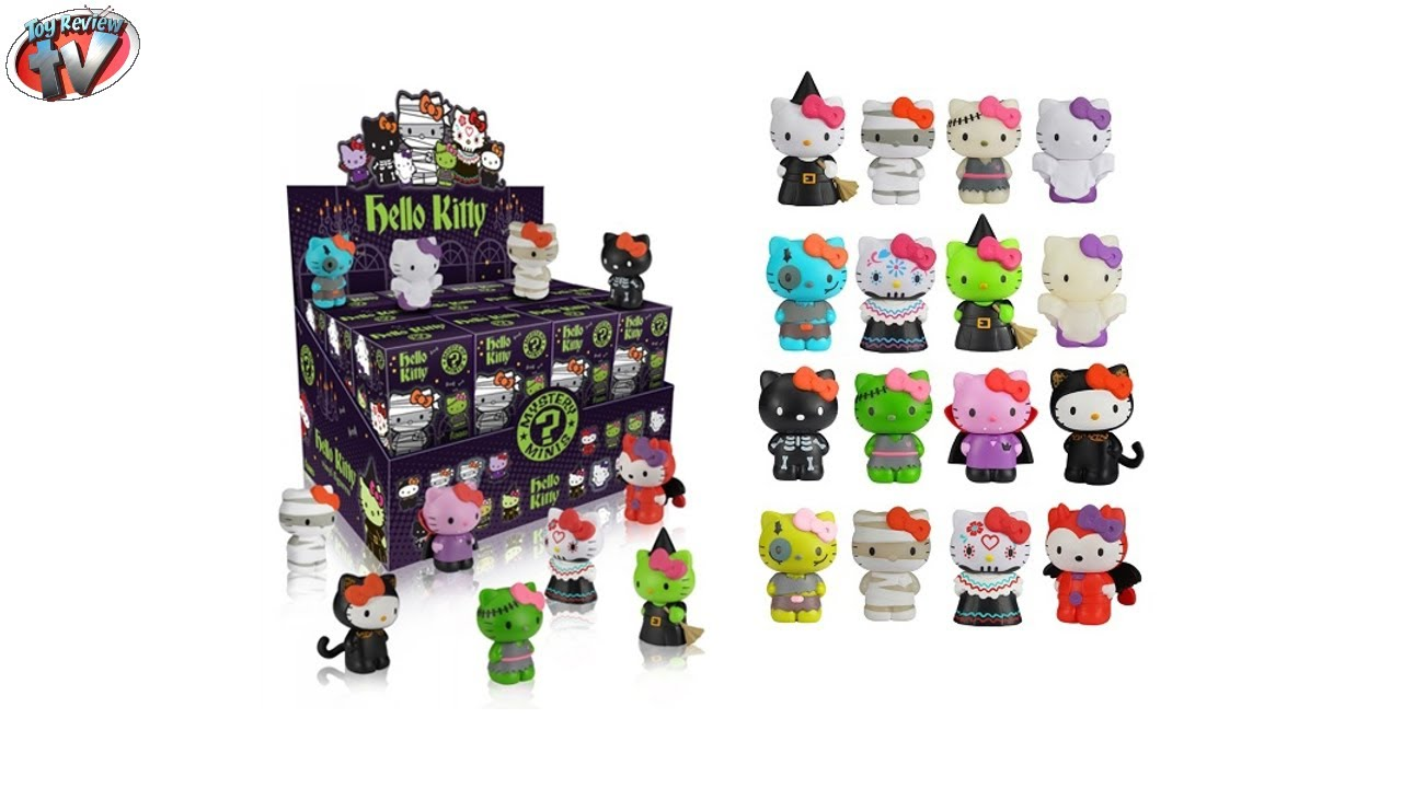 Toy Mystery Box : Hello kitty mystery minis vinyl figures blind box toy