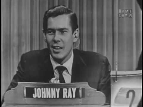 What's My Line?  Johnnie Ray Aug 22, 1954 W COMMERCIALS