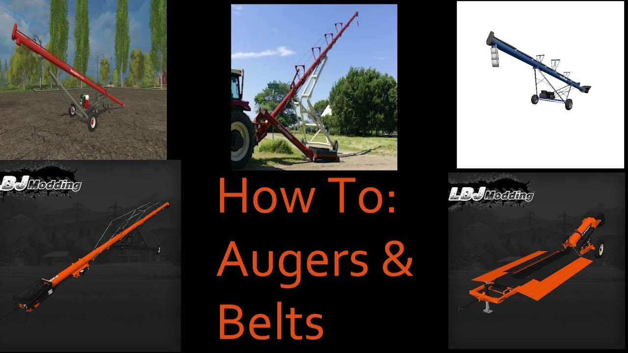 howto augers and belts for grain silos youtube. Black Bedroom Furniture Sets. Home Design Ideas