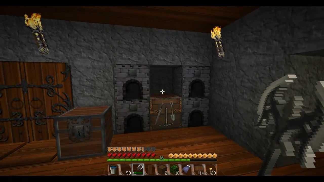 tuto comment faire du verre vitre minecraft hd youtube. Black Bedroom Furniture Sets. Home Design Ideas