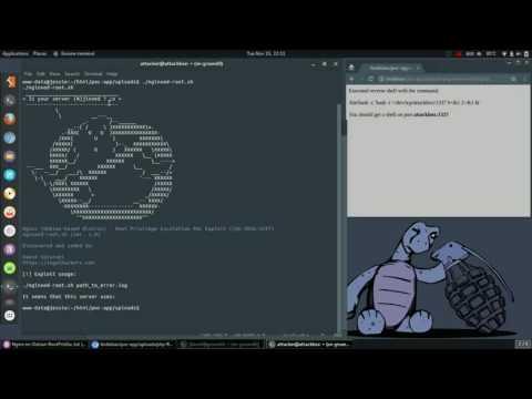 CVE-2016-1247 Nginx (Debian-based) Vulnerability - Root Priv. Escalation PoC Exploit Demo