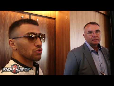 Vasyl Lomachenko says Terence Crawford is the Best P4P Fighter