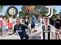Fan Interisti Vs Fan Juventini - Botta E Risposta Tra Tifosi ● Ronaldo Vs Nainggolan