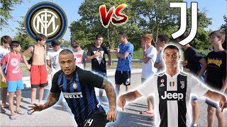 FAN Interisti VS FAN Juventini - Botta e Risposta Tra Tifosi ● RONALDO vs NAINGGOLAN