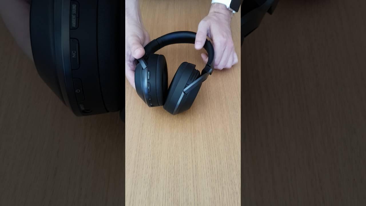 Casque Audio Bluetooth Sony Mdr 1000x Déballage Et Avis Youtube