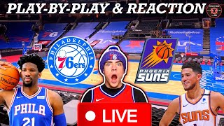 Philadelphia Sixers vs Phoenix Suns Live Play-By-Play & Reaction