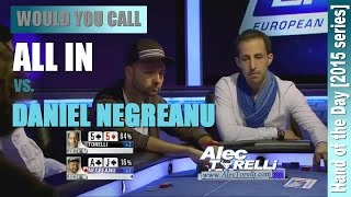 Would You Call This All In vs. Daniel Negreanu? - █-█otD 38