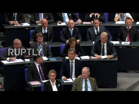 Germany: AfD members take their seats for first time in parliament