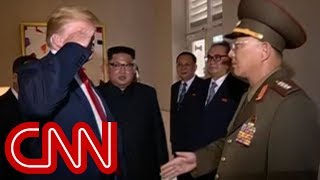Trump salutes North Korean general