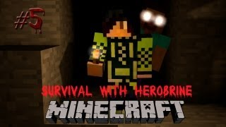Minecraft: Survival with Herobrine #5 - Чак Норрис?!
