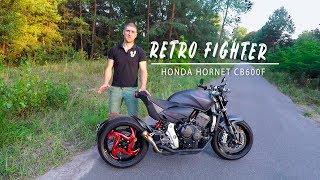 Обзор проекта Retro Fighter на базе мотоцикла Honda Hornet CB600F
