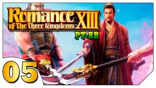 Romance of the Three Kingdoms XIII #05 (VAMOS JOGAR)Batalha/Bagunça Naval [Gameplay Português PT-BR]