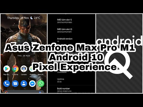 Asus Zenfone Max Pro M1 Android 10 Pixel Experience ROM review