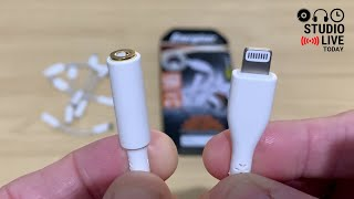 An iPhone HEADPHONE adapter... that lasts?