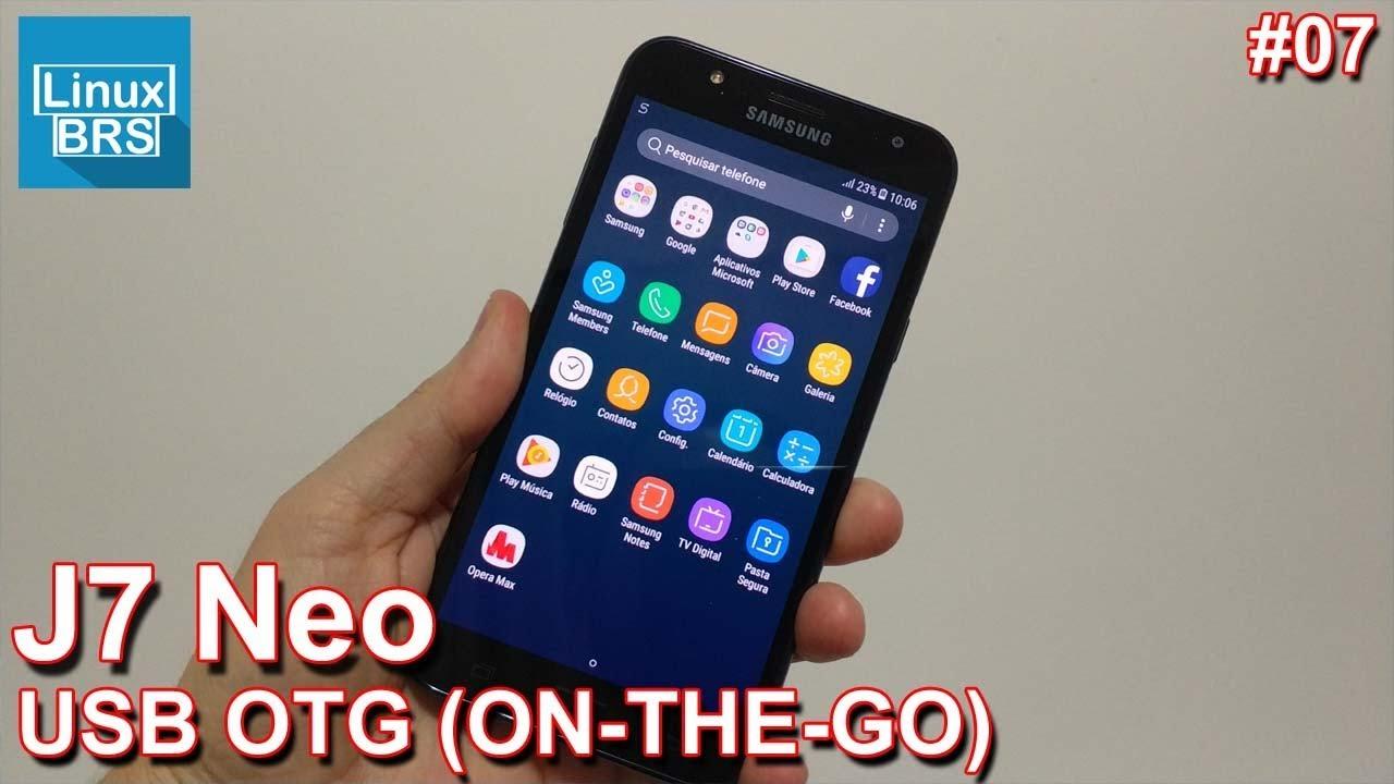 9d12c24db44 Samsung Galaxy J7 Neo - USB OTG (ON-THE-GO) - Conectando dispositivos