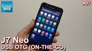 Samsung Galaxy J7 Neo - USB OTG (ON-THE-GO) - Conectando dispositivos