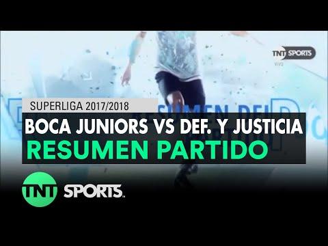 Resumen de Boca Juniors vs Def. y Justicia (1-2) | Fecha 22 - Superliga Argentina 2017/2018