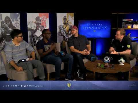 Destiny 2   Forsaken Reveal Stream #2- Tools of the Trade (Aug 7th 2018)