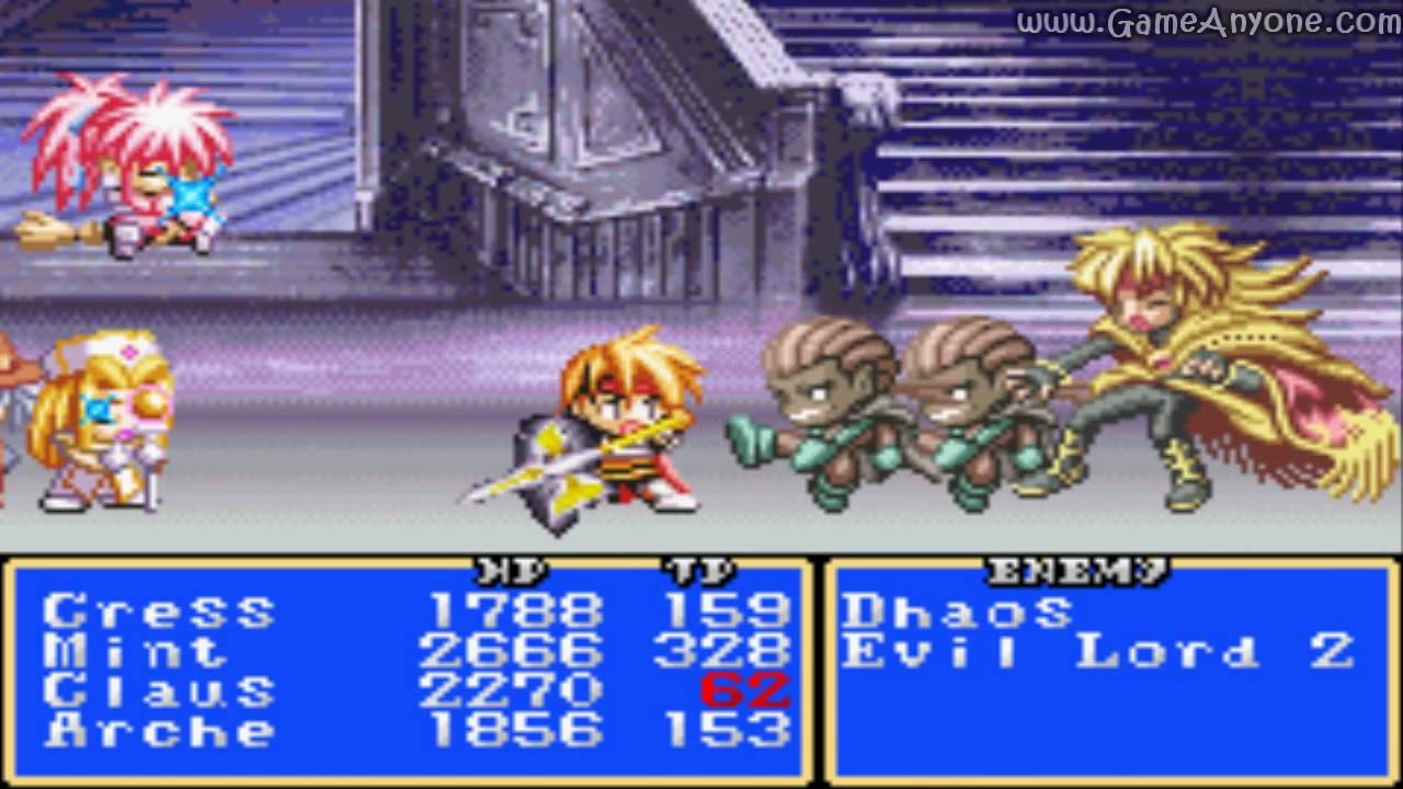 Tales of Phantasia – FAQ/Walkthrough - GameFAQs