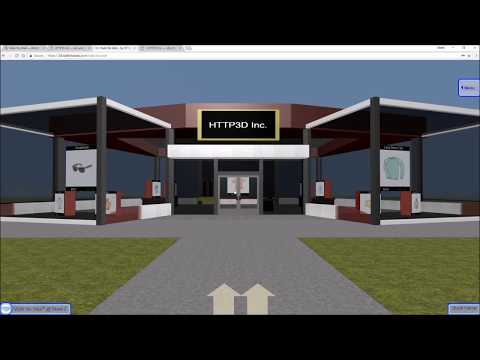 Walk the Web - 3D Store Browsing Demo