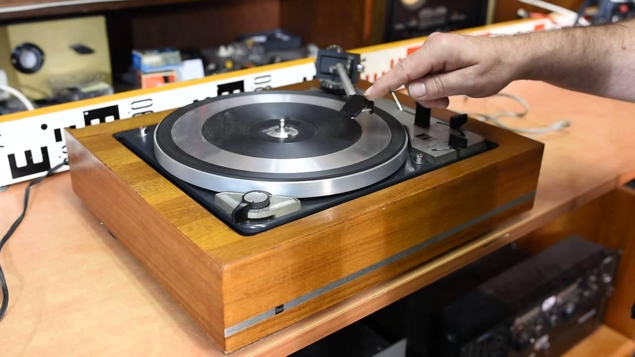 Dual 1019 Plattenspieler 16 - 33 - 45 - 78 RPM Turntable