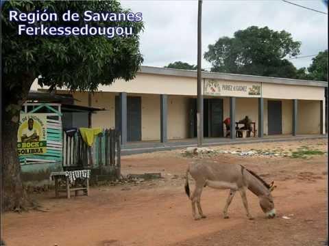 29. Africa. Costa de Marfil.  Marahoue-Zanzan.wmv