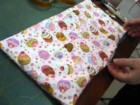 Tutorial cucito creativo ricettario goloso youtube for Tutorial fermaporta di stoffa