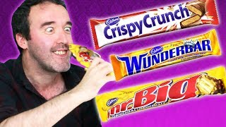 Things get a bit peanut-y for our Irish People trying Canadian Cadbury's Chocolate! MERCH MADNESS: https://TRY.media/Merch Subscribe: ...