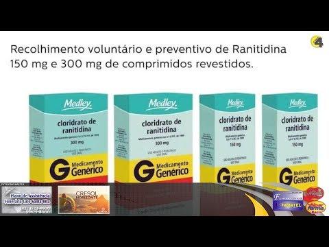 Saúde de União da Vitória garante entrega do medicamento Ranitidina sem contaminação