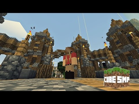 Exploring the Cube SMP Season 1 Map