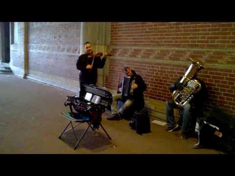 Street Music : Amsterdam : violin near Rijks museum