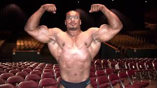 MY FIRST NATIONAL BODYBUILDING SHOW LARRYWHEELS