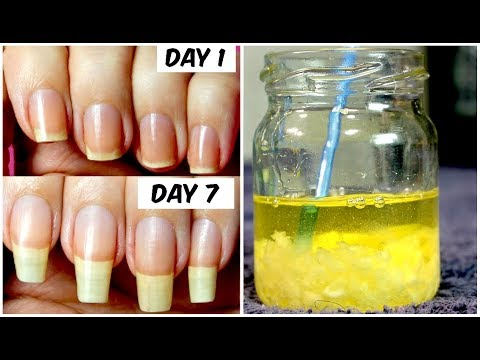 How To Grow Long Nails Faster In Just 7 Days (100% Working Treatment) By Simple Beauty Secrets