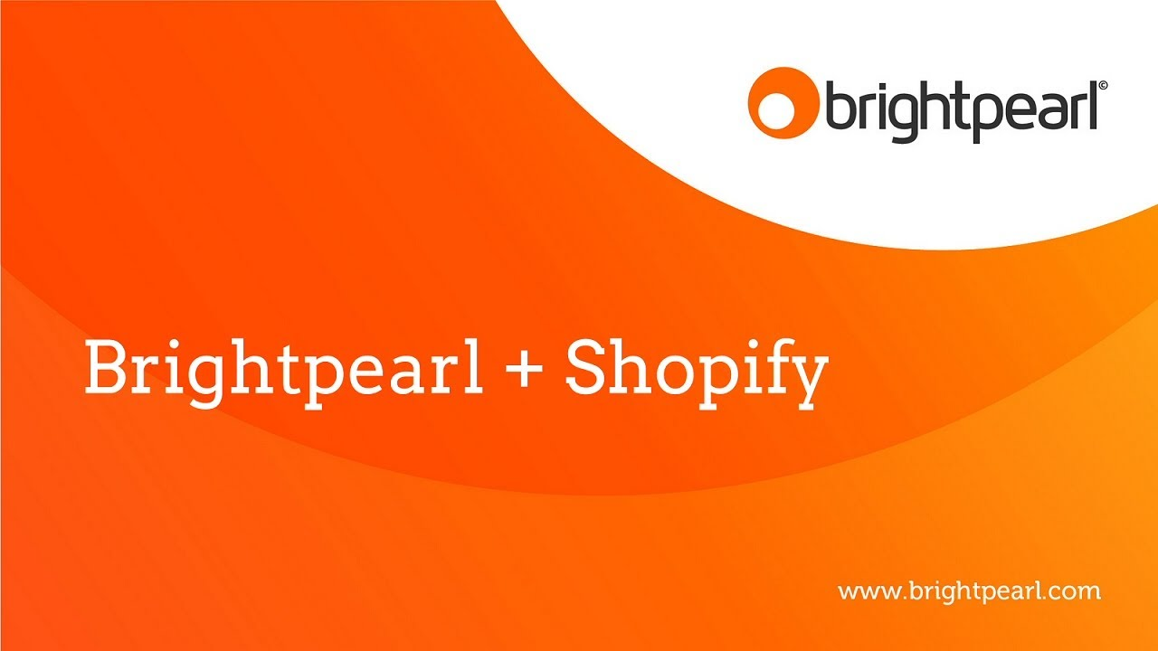 Connecting your Shopify account to Brightpearl & downloading products