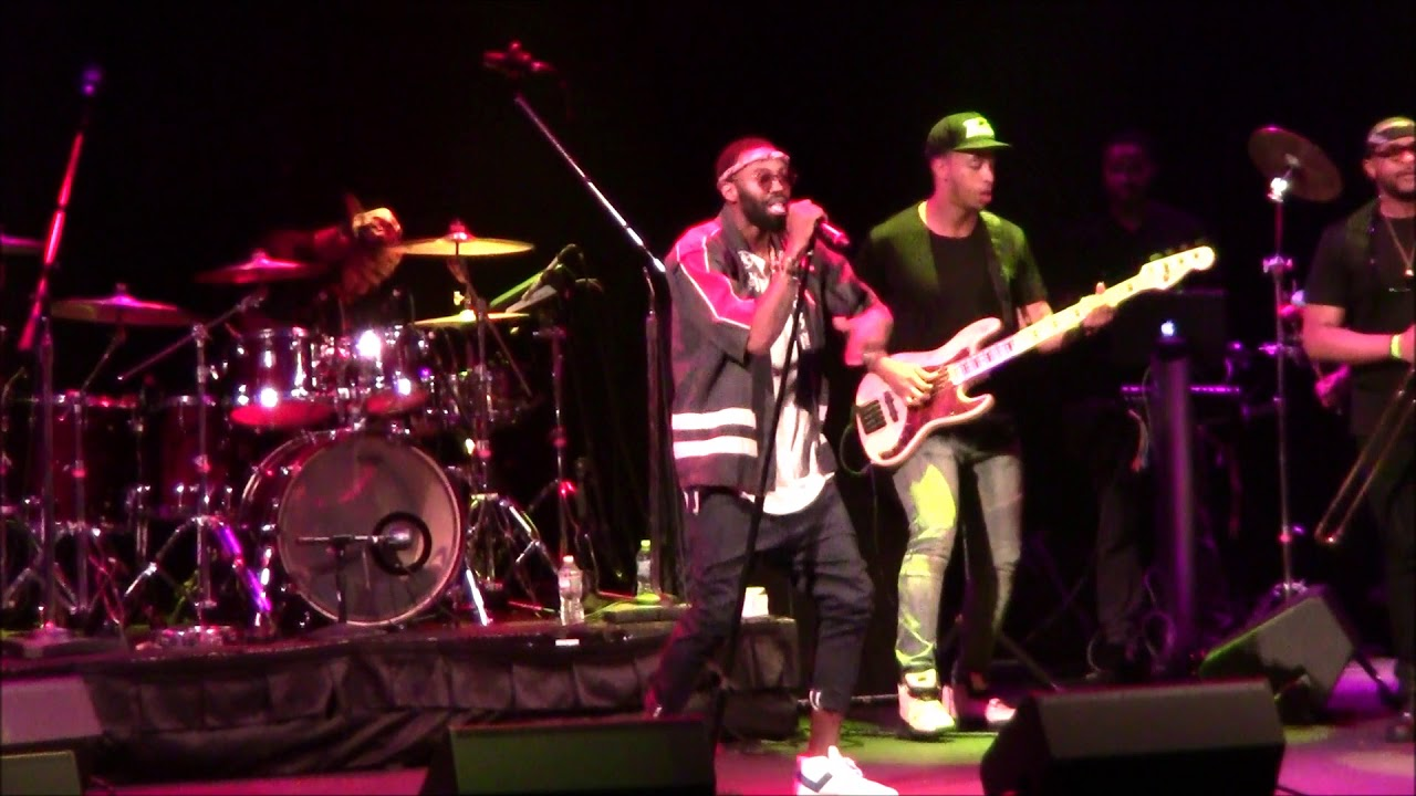 Aaron Camper live at the Howard Theatre