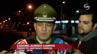 Chofer de bus incendiado por encapuchados entregó su testimonio- CHV Noticias