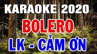 Karaoke Nhạc Sến Bolero Trữ Tình Hải Ngoại | Liên Khúc Rumba Căn Nhà Ngoại Ô | Trọng Hiếu