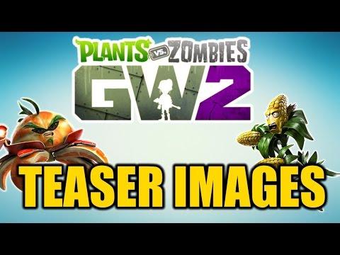 Plants vs Zombies Garden Warfare 2 - Teaser Images! More Info At Gamescom!