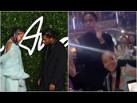 Rihanna And ASAP Rocky Are Officially A Couple At British Fashion Awards