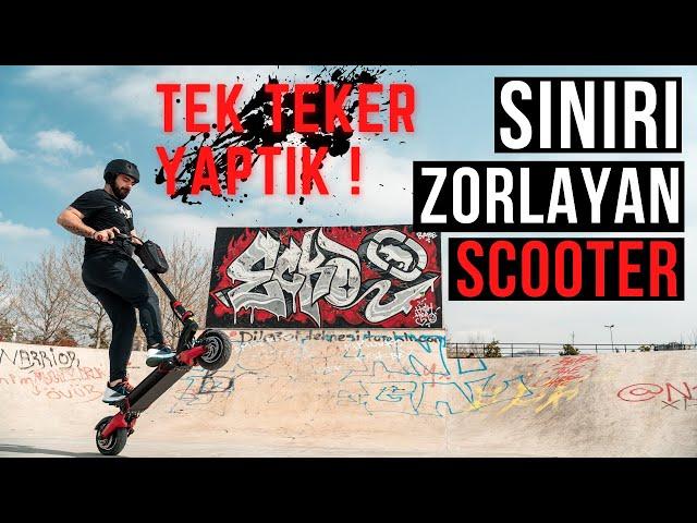 Zero 10x Elektrikli Scooter ile TEK TEKER // SINIRLARI ZORLADIK !