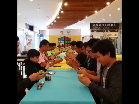Cebu Masters 2017 post competition grandcubemeet