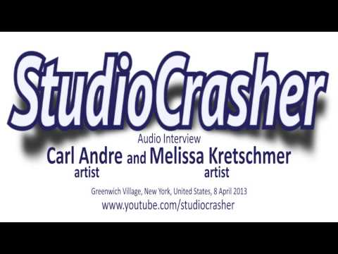 Interview with Carl Andre and Melissa Kretschmer, New York, 8 April 2013
