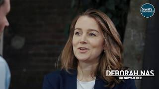 Interview trendwatcher Deborah Nas bij Quality Bookings TV