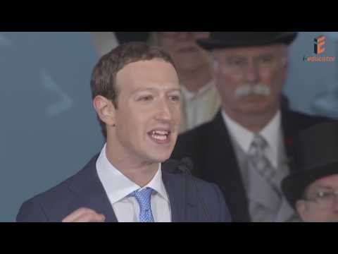 Facebook Founder Mark Zuckerberg    Harvard Commencement 2017