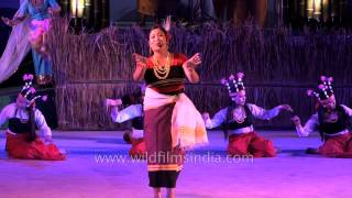 Manipuri folk song presented at Sangai Fest