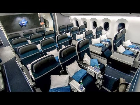 Inside WestJet's Brand New 787-9 Dreamliner